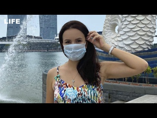 """""""Без маски не пустят даже в магазин"""". Россиянка — о карантине в Сингапуре"""