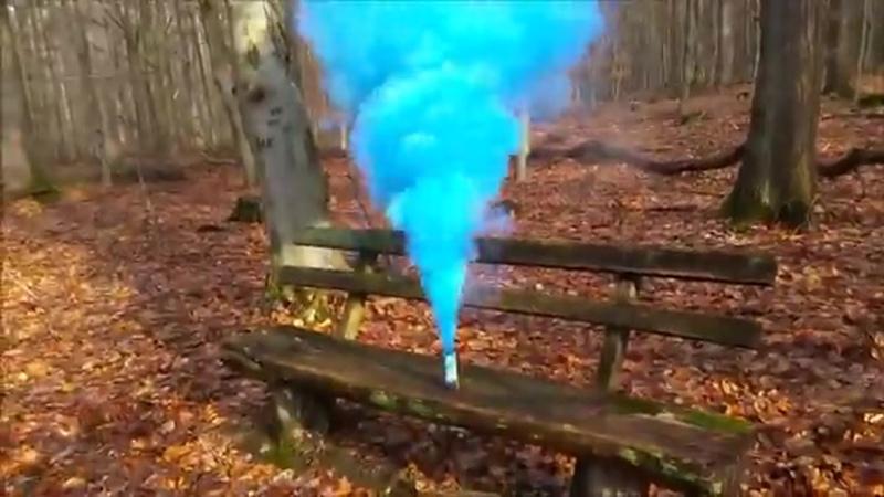 Smoke fountain JFS-1 Синий