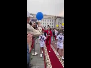 В Улан-Удэ чествовали призёра Олимпийских Игр в Токио, Светлану Гомбоеву