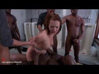 Katja Kassin насилие В туалете Bound GangBangs [BDSM, porno, Sex, kinky, hardcore, rough, бдсм, секс, порно, жестко]