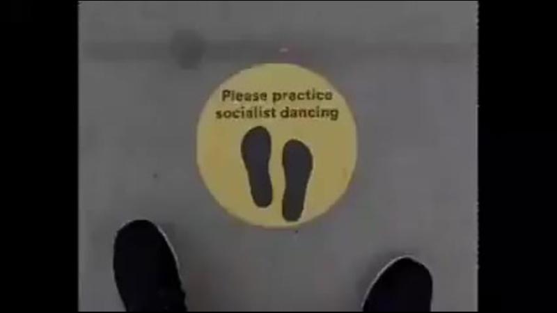 Socialist dancing