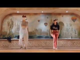 lisa dance practice ig