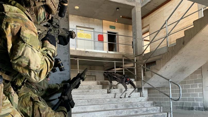 Робо-снайпер-пес