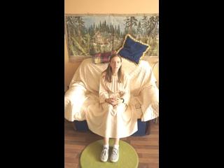 Видео отзыв о работе АНО Доброта. Батаева Елизавета, участник проекта Равный Равному. Копейск. Дети и молодежь