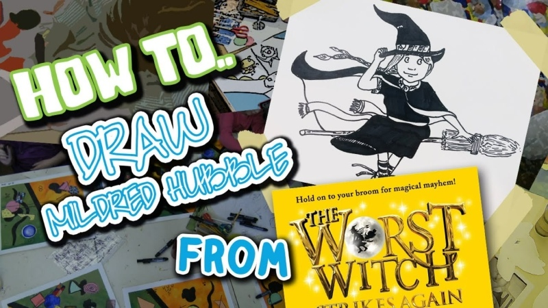 How to Draw Mildred Hubble from The Worst Witch
