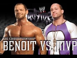 Chris Benoit vs MVP - United States Championship Match [HD]