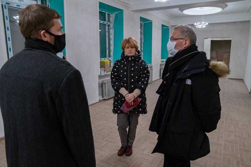 Президент Национальной галереи Коми Пьер Броше посетил Ухту, изображение №8