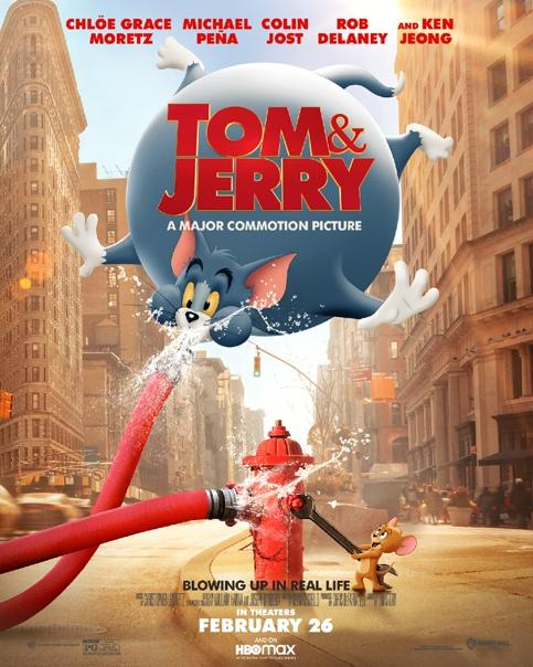 Свежие постеры «Тома и Джерри» В кино с 25 февраля.