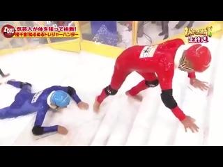 Японское телешоу _скользкая лестница_