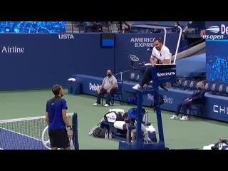 Даниил Медведев - Доминик Тим | Полная нарезка матча US Open