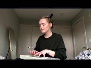 Нежный кавер на песню Selfish - Madison Beer в исполнении  Alice Kristiansen