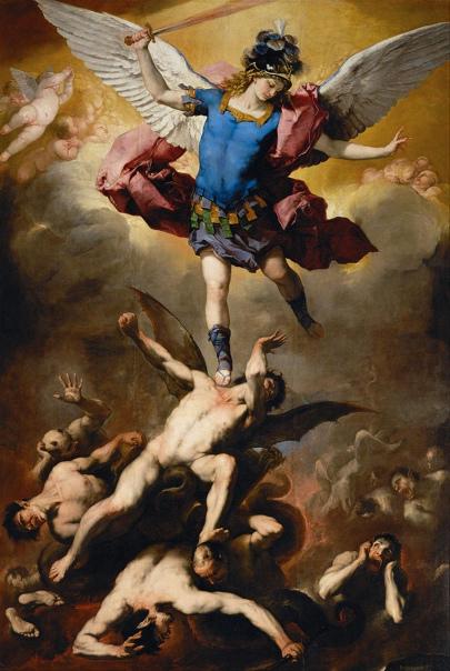 l'Arcangelo Michele - Luca Giordano