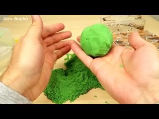 Реакция муравьев на кинетический песок!
