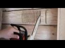 Изготовление ниши для монтажа вводного щита. Скрытый электромонтаж в деревянном доме