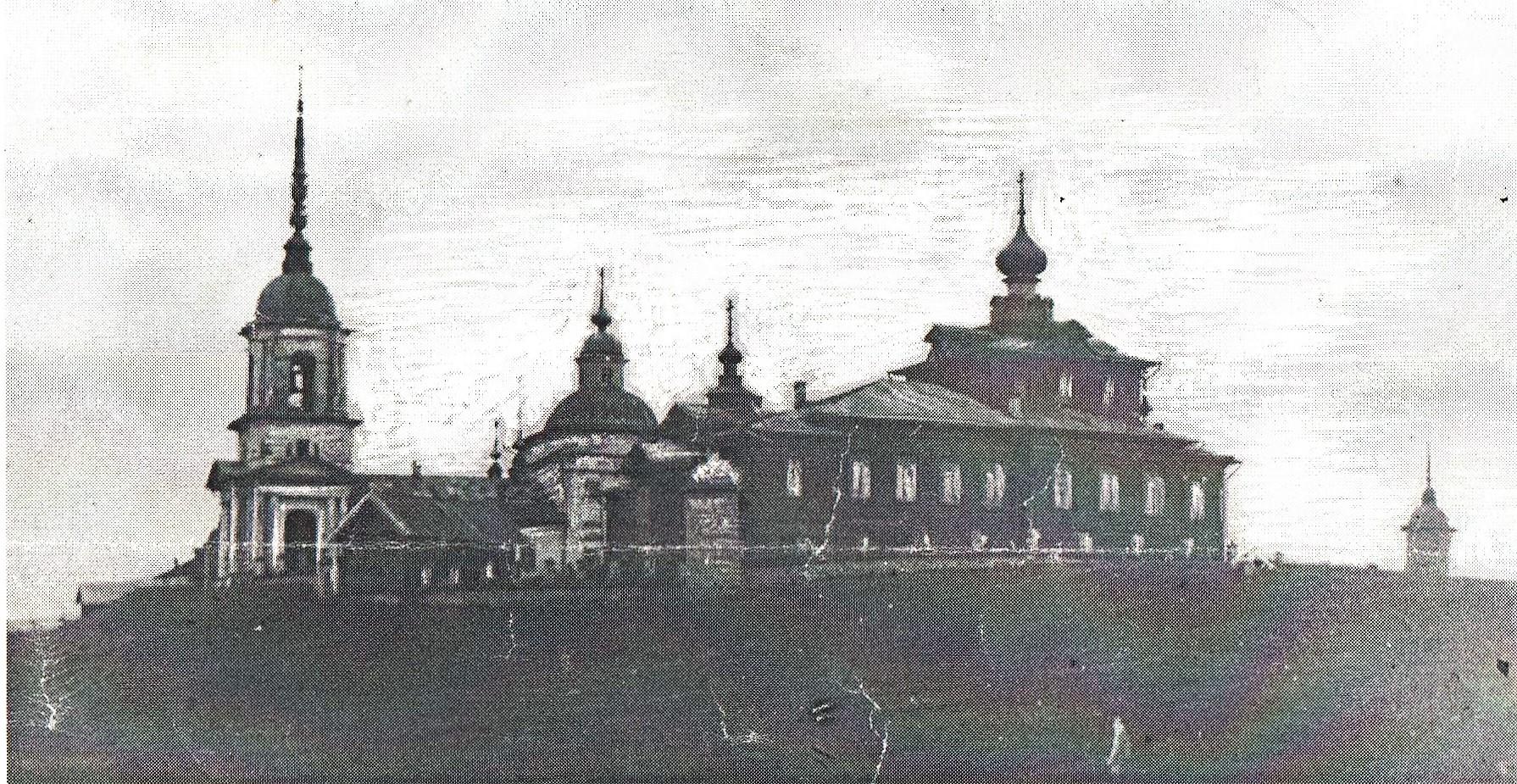Фото 1930-го года, деревня Поповка Коношского района