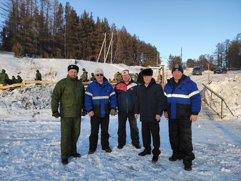 Помощь в подготовке полевого лагеря для проведения Крещенского купания, изображение №2