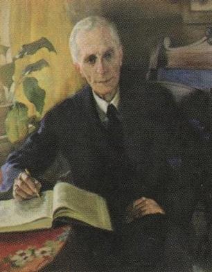 Бершадский Ю.Р. Портрет профессора Бабыкина К.Т.1947 г.