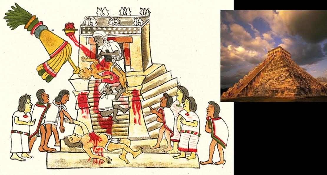 Жертвы ацтеков