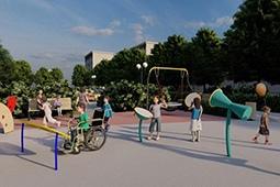 Для детей с ограниченными возможностями здоровья будет установлена первая площадка