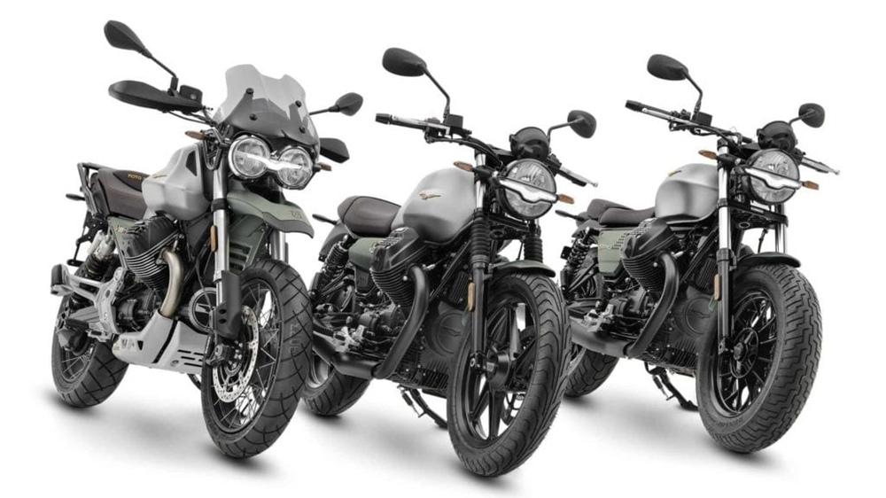 Юбилейные мотоциклы Moto Guzzi V85 TT, V9, V7 Centennial 2021