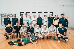 Молодежь Липецкого района обыграла в футбол команду областной администрации