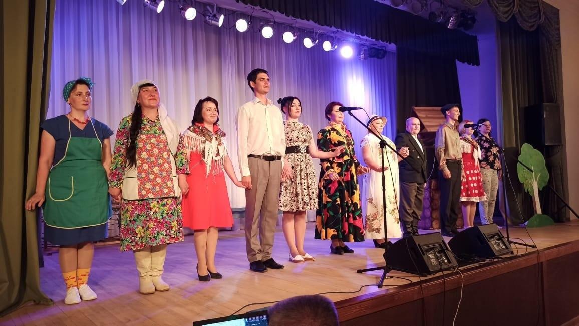 Театралы из Можгинского района одержали победу в