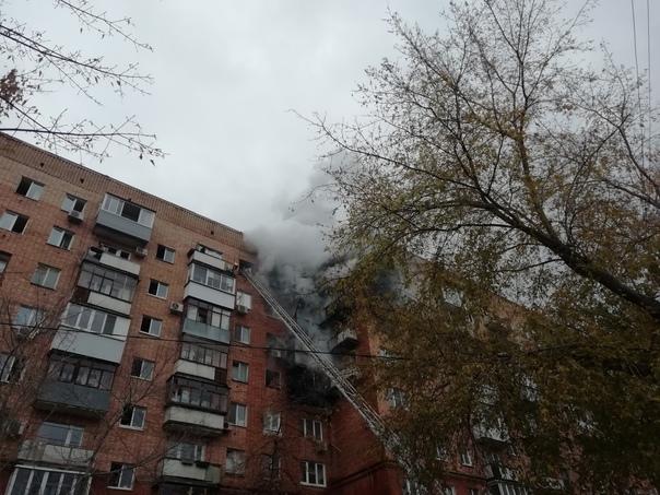 Фотографии с пожара на Ново-Садовой, 30....