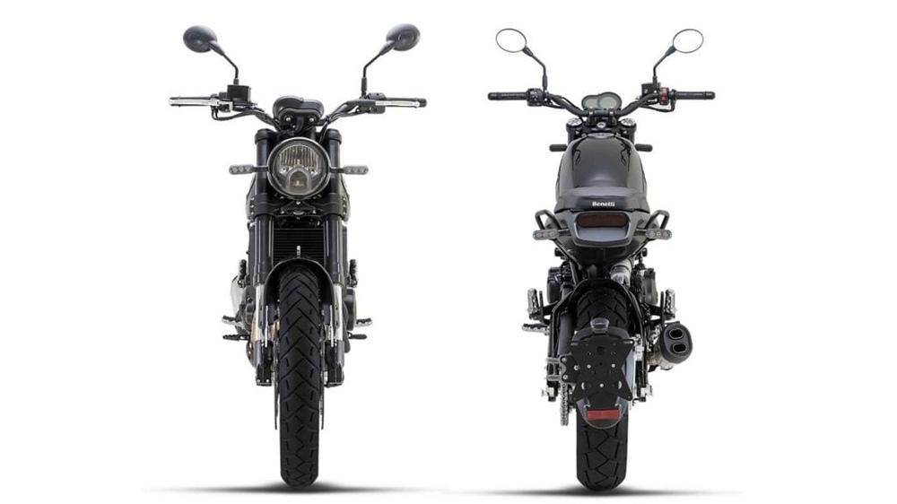 Мотоцикл Benelli Leoncino 500 Trail 2021