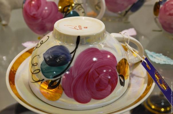А у вас дома когда-нибудь был чайный сервиз с «ага...