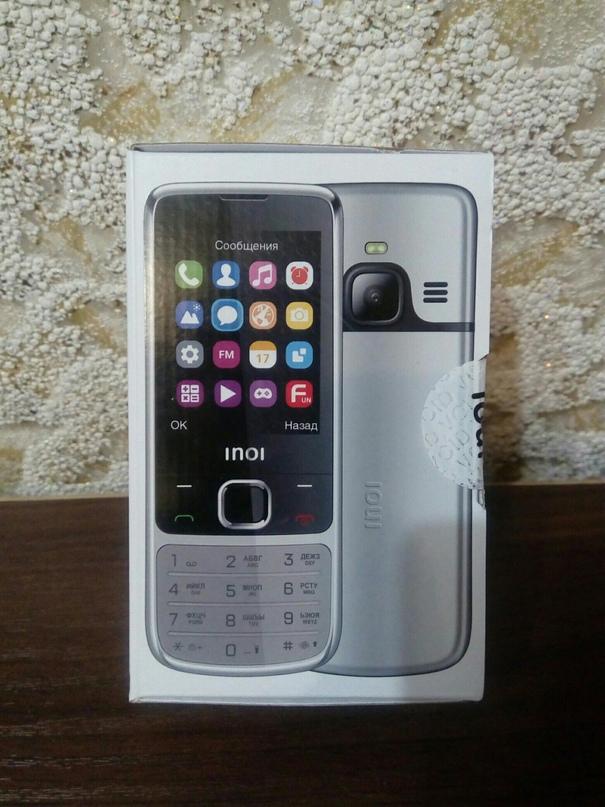 Новый INOI 243 — кнопочный телефон в | Объявления Орска и Новотроицка №16606