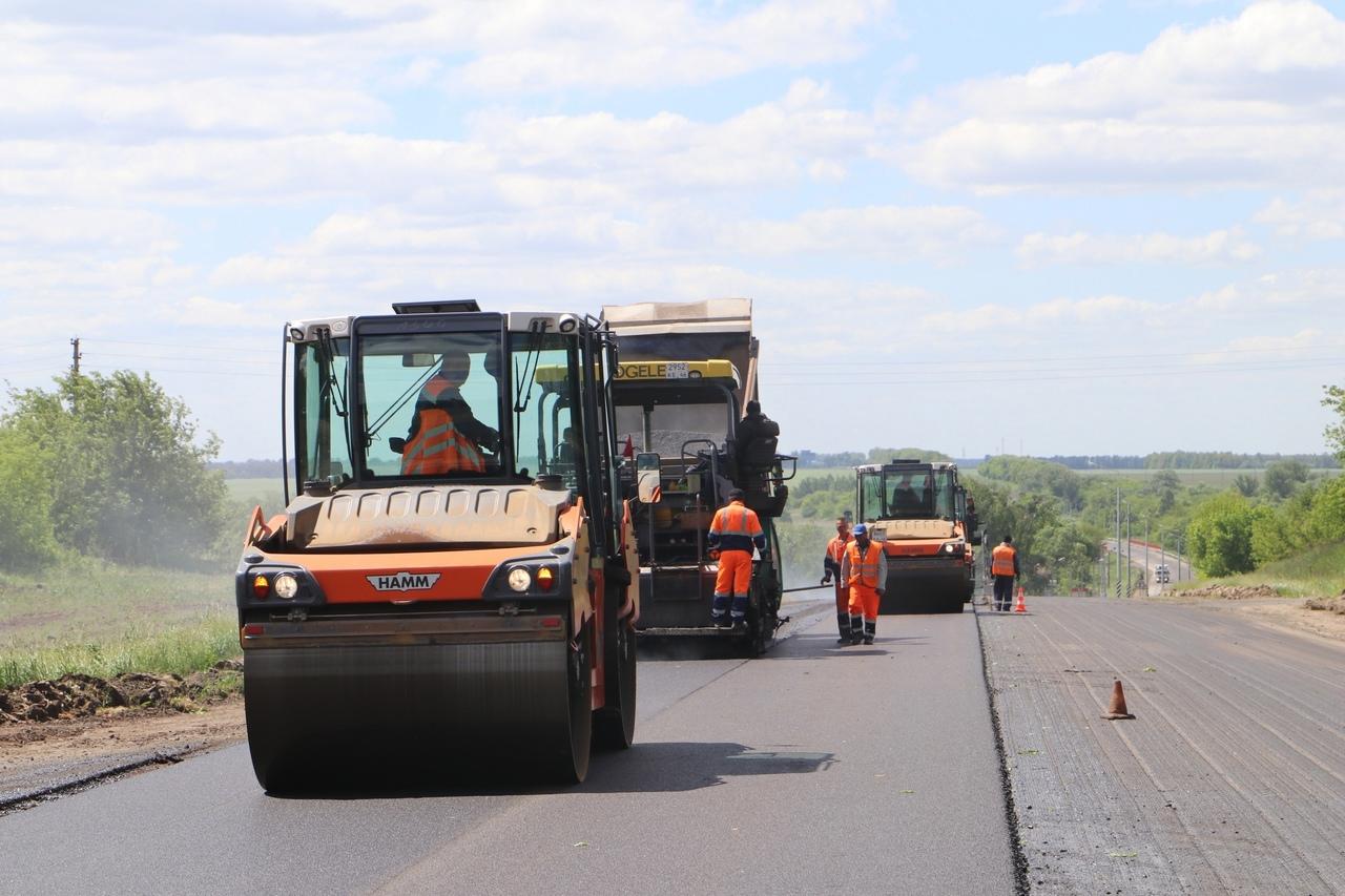В Курской области начался ремонт трассы Фатеж — Дмитриев