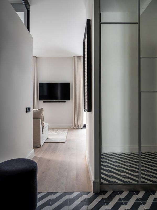 Светлый интерьер квартиры 47 кв.