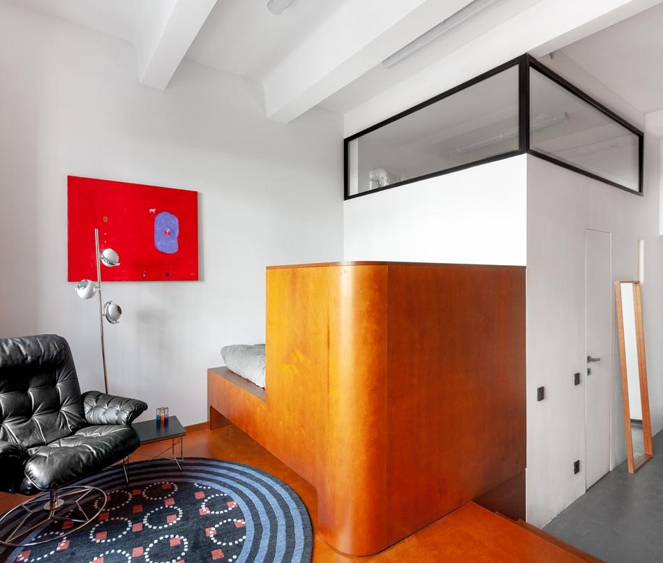 Интерьер студийной квартиры 27 кв.
