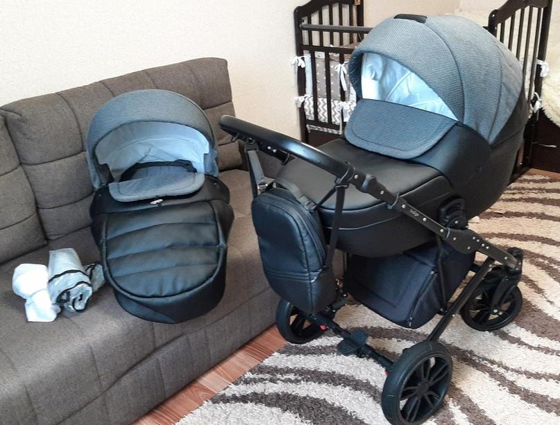 Коляска Indigo Mio 2 в 1. После одного ребёнка, в использовании год. Покупали в...