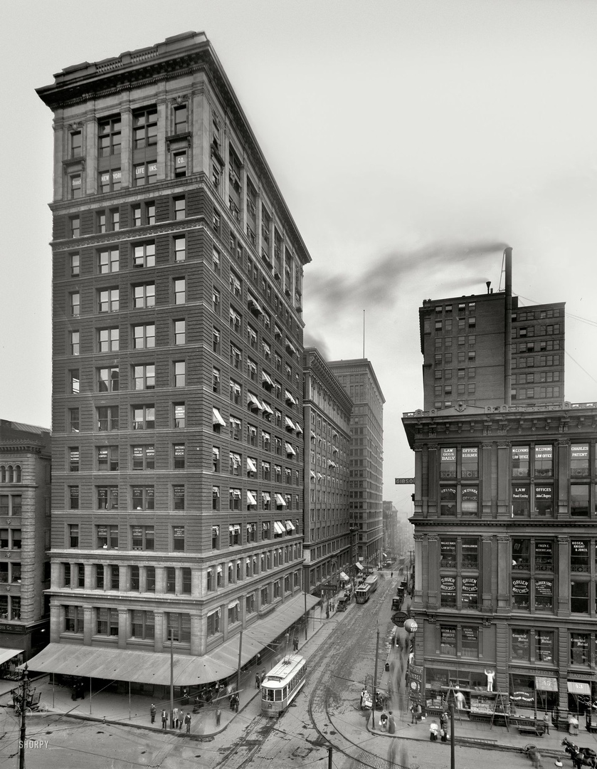 HD-фотографии городов США сделанные в 1900-1915 годах, изображение №15