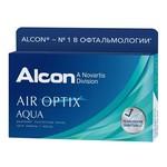 Alcon Air Optix Aqua ежемесячной замены 3 шт.