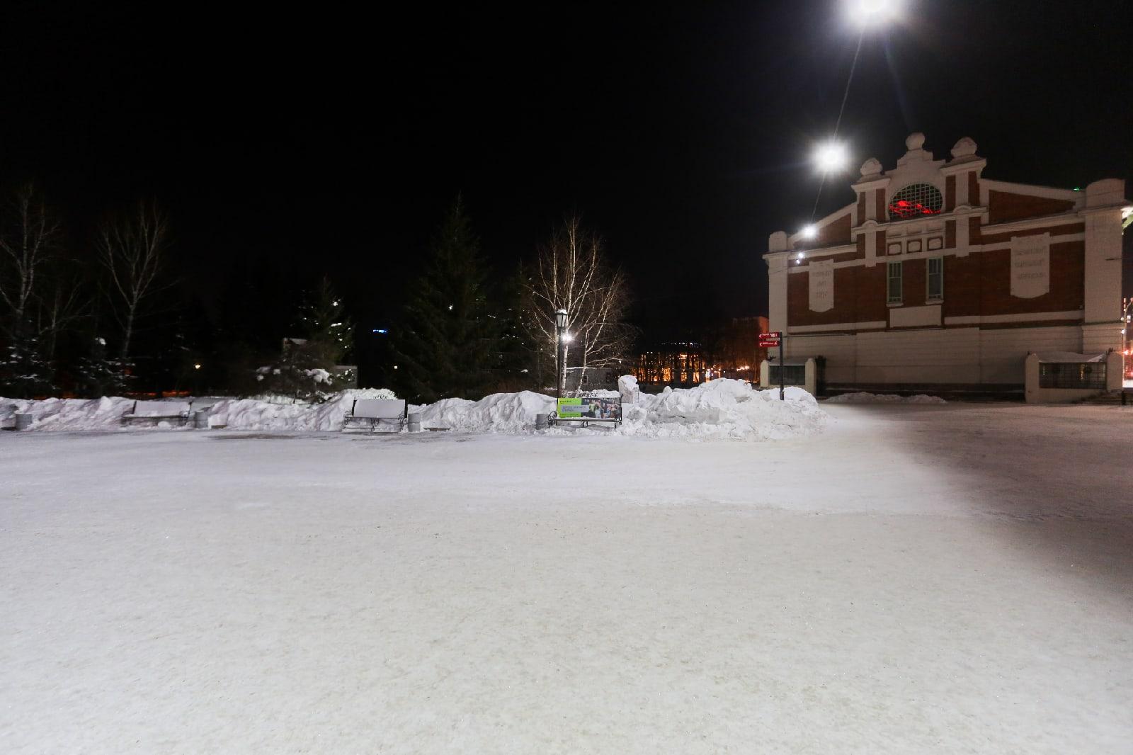 Фото «Оторвать руки мерзавцам»: новосибирцы жаждут наказания для разрушителей снежных скульптур в Первомайском сквере 3