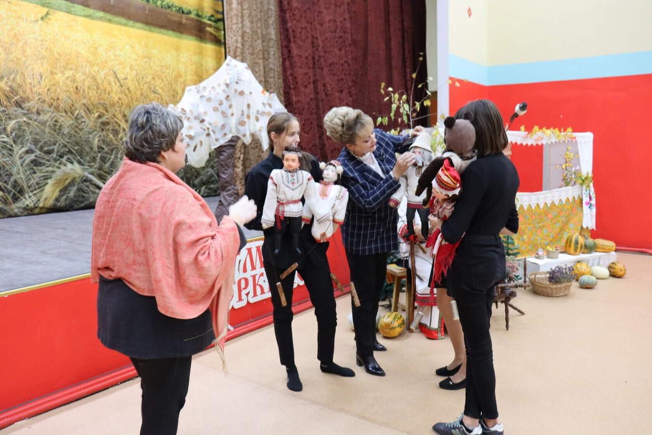 Творческий коллектив из Оркино участвует в областном фестивале «Театральный калейдоскоп»