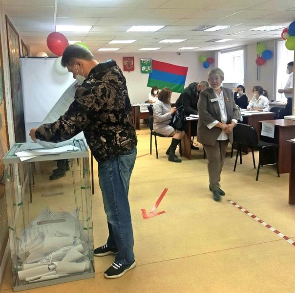 Первый день выборов в самом разгаре. На территории Костомукшского городского округа работает 12
