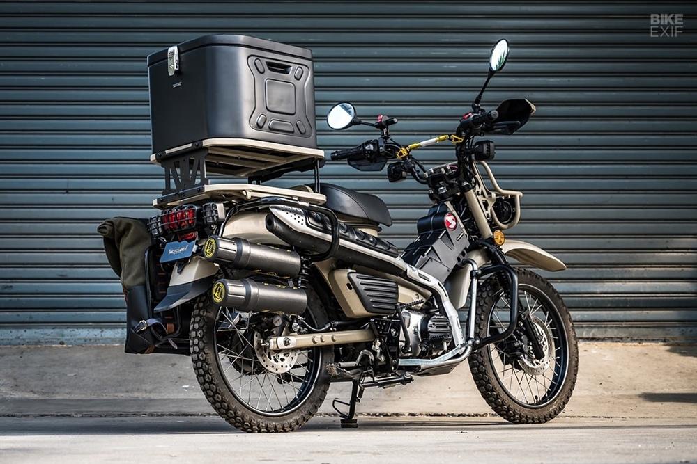 Motolord: кастом Honda CT125 MadMax