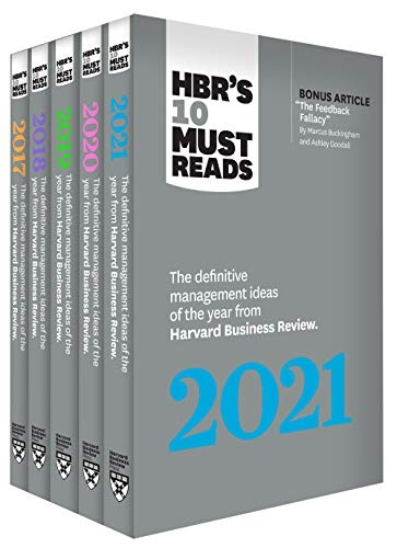 5 Years of Must Reads from HBR 2021 Edition