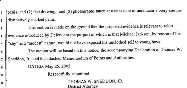 Действительно ли Снеддон хотел представить фотографии Майкла Джексона на суде 2005 года?, изображение №4
