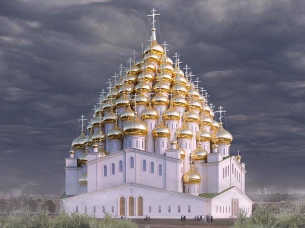 На Охтинском мысе хотят построить храм с 320 купал...