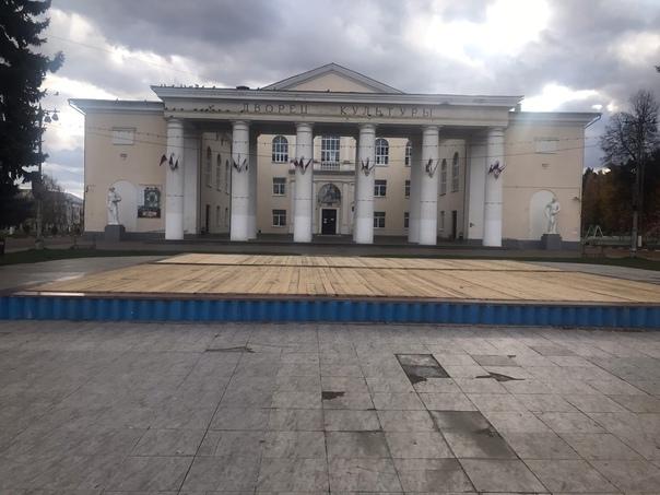 Накрыли фонтан у Дк на Соцгороде. Интересно, а вес...