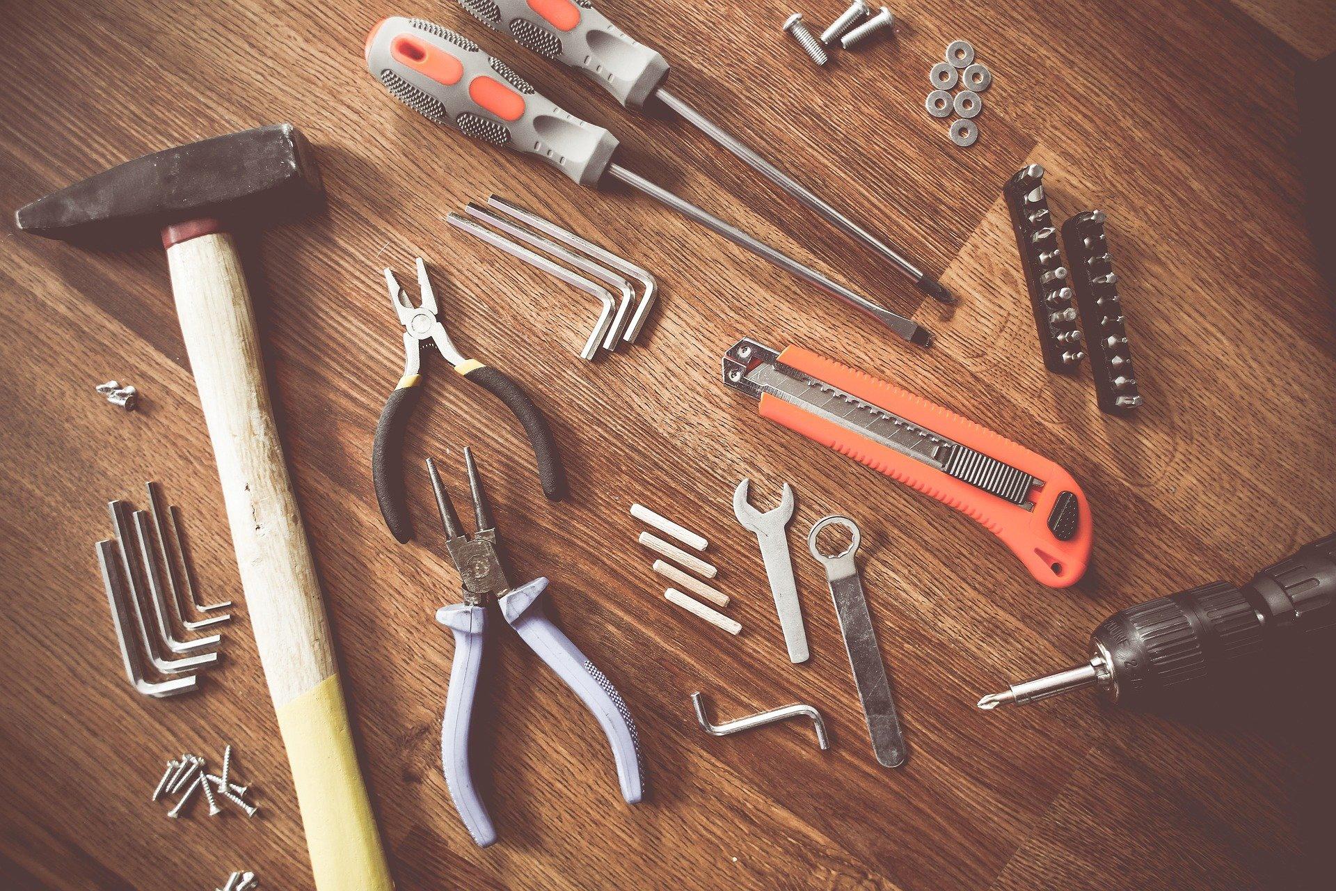 Инструменты. Фото: pixabay