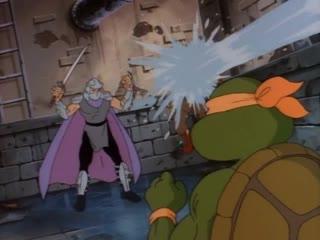 Черепашки мутанты ниндзя   Ниндзя из ниоткуда / The Ninja Sword of Nowhere (1989) - Эпизод 31 (Сезон 3)