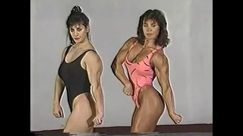 Проффесиональная борьба aka рестлинг вознянаковре мускулистые женщины бодибилдерши дерутся aka muscle female wrestling