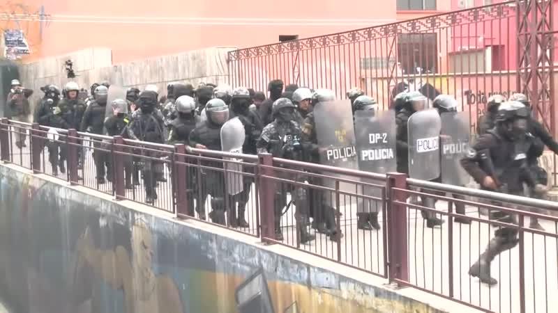 Декабрь 2017 го Боливия Забастовка медиков