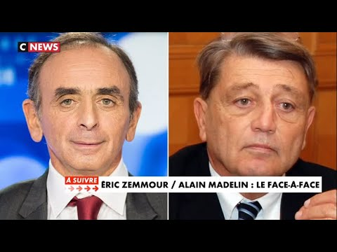 Eric Zemmour VS Alain Madelin Le Face A Face FACE À L'INFO