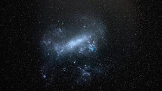 Большое Магелланово Облако (БМО) 4K Space Engine